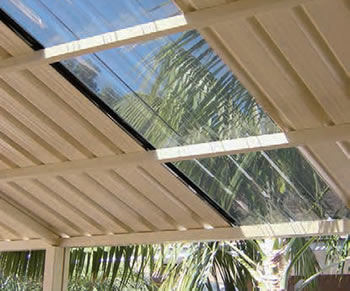 Polycarbonate Roofing - Cafe Blinds - GB Plastics Adelaide